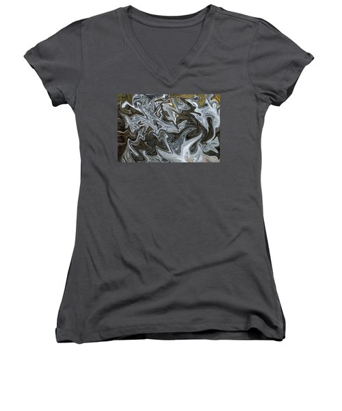 Women's V-Neck T-Shirt (Junior Cut) featuring the photograph Imagine by Aimee L Maher Photography and Art Visit ALMGallerydotcom