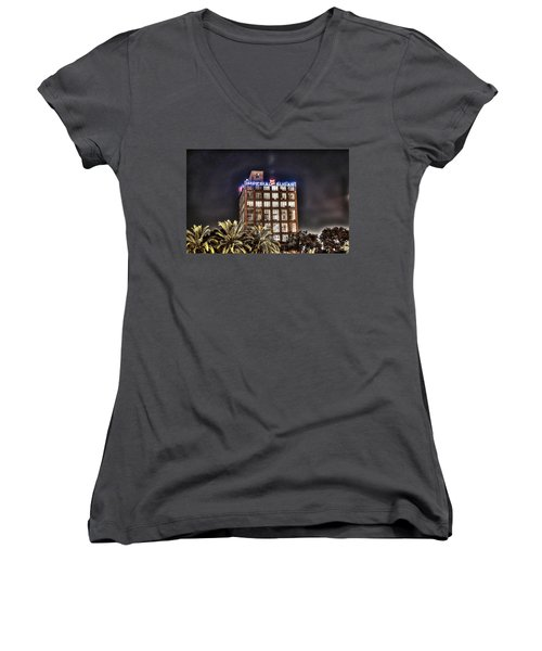 Imperial Sugar Mill Women's V-Neck T-Shirt
