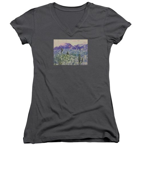 In Quietness And Trust Women's V-Neck