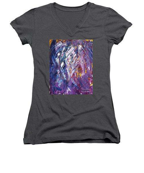 In The Fishermens Net Women's V-Neck T-Shirt