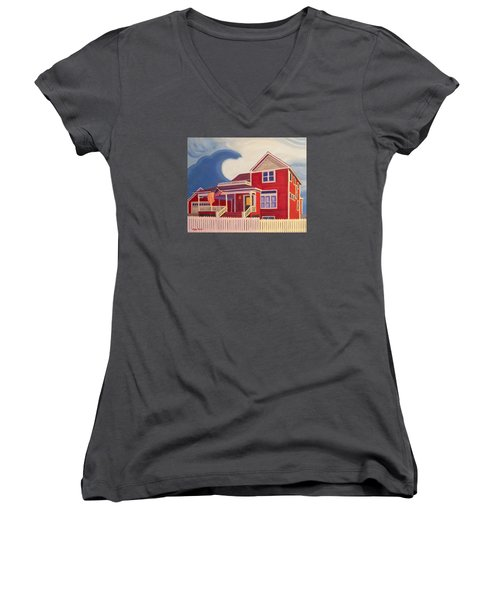 Independence Day Women's V-Neck (Athletic Fit)