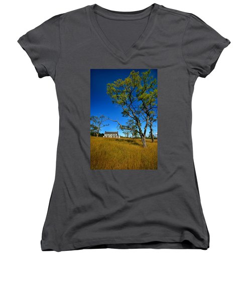 Inn On Sleeping Bear Women's V-Neck T-Shirt