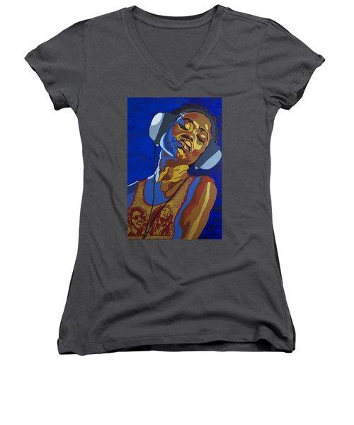 Innervisions Women's V-Neck T-Shirt