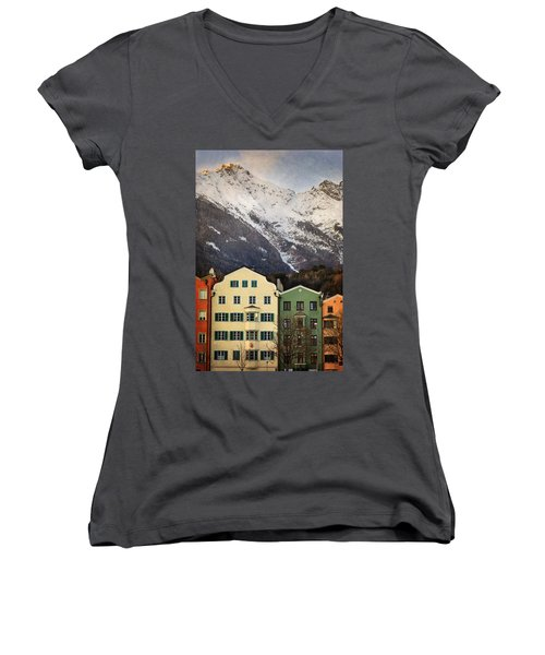 Innsbruck Women's V-Neck (Athletic Fit)