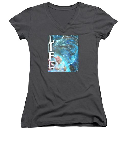 Intelligent Life Women's V-Neck (Athletic Fit)