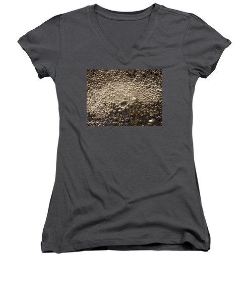 Interaction Women's V-Neck T-Shirt (Junior Cut) by David Pantuso