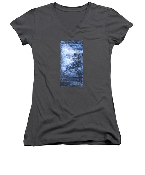 Into The Mystic Women's V-Neck T-Shirt (Junior Cut) by Susan  Dimitrakopoulos