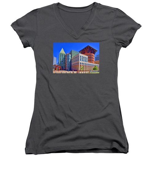 Invitation To Learn Women's V-Neck T-Shirt