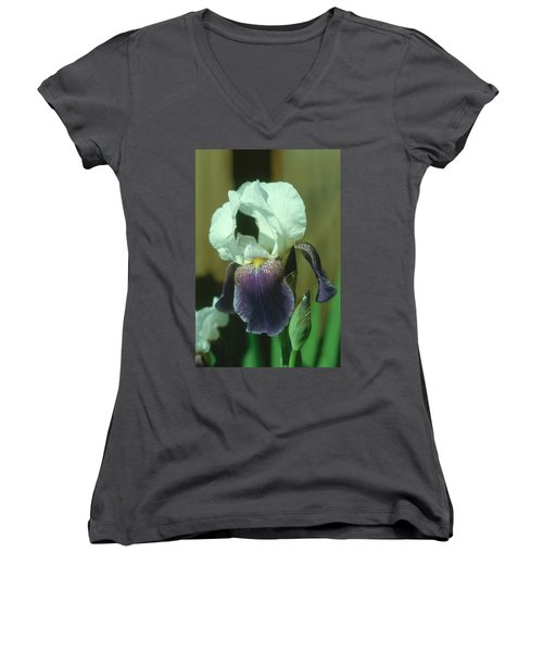 Iris 3 Women's V-Neck T-Shirt (Junior Cut)