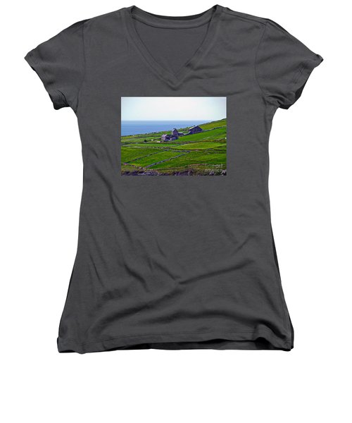 Irish Farm 1 Women's V-Neck
