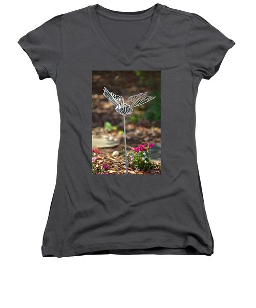 Iron Butterfly Women's V-Neck T-Shirt