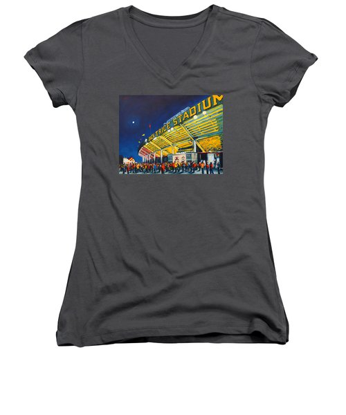 Isu - Jack Trice Stadium Women's V-Neck