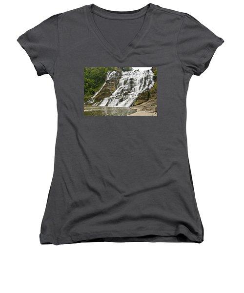 Ithaca Falls Women's V-Neck