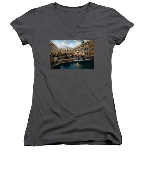 It's Not Venice Women's V-Neck T-Shirt