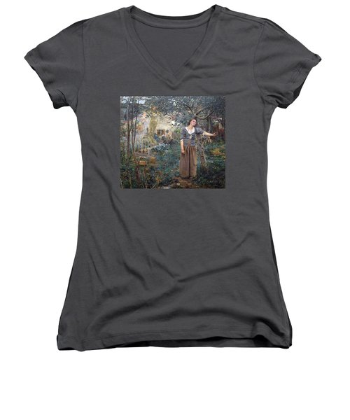 Joan Of Arc Women's V-Neck
