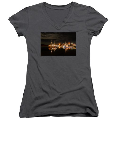 John's Cove Reflections - Revisited Women's V-Neck