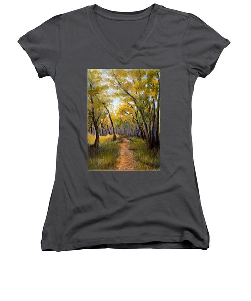 Just Before Autumn Women's V-Neck