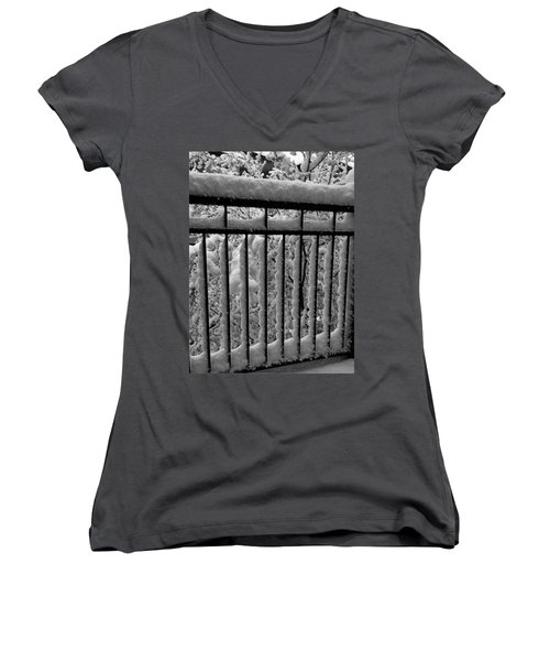 Just Passing Through Women's V-Neck T-Shirt