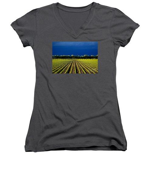Just Starting Women's V-Neck T-Shirt