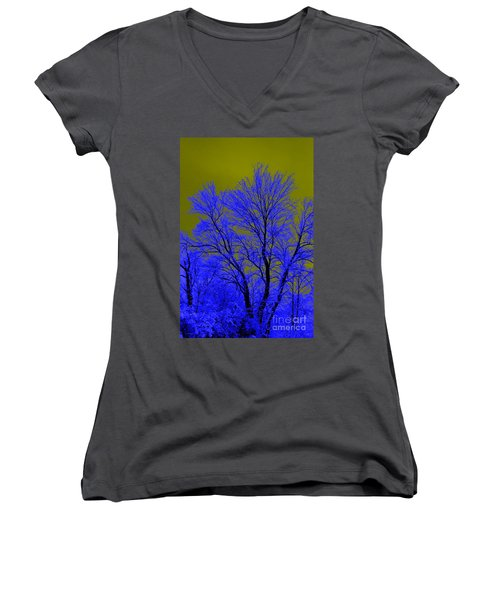 Juxtaposed Women's V-Neck (Athletic Fit)