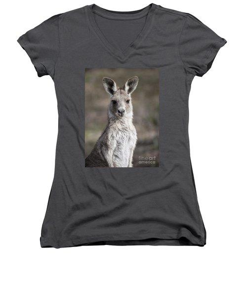 Kangaroo Women's V-Neck