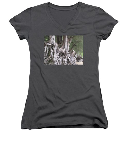 Kauai - Roots Women's V-Neck T-Shirt