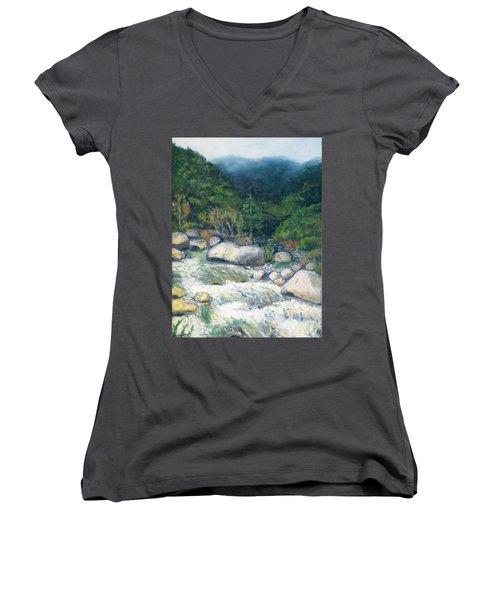Kaweah River Women's V-Neck T-Shirt