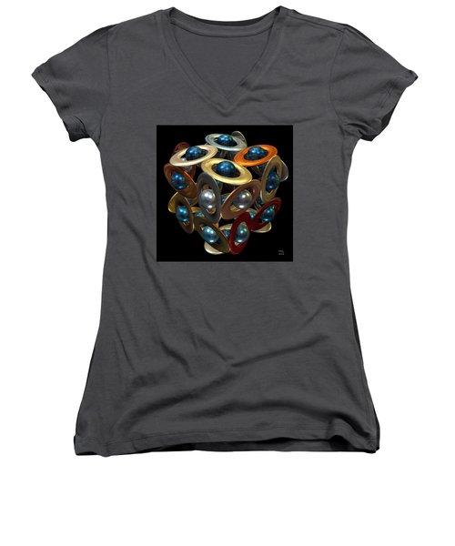 Kepler's Dream Women's V-Neck T-Shirt