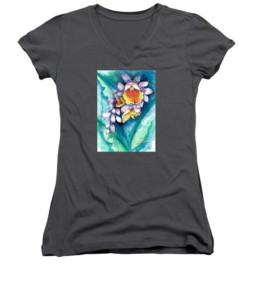 Key West Ginger Women's V-Neck (Athletic Fit)