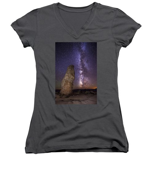 Kodachrome Galaxy Women's V-Neck