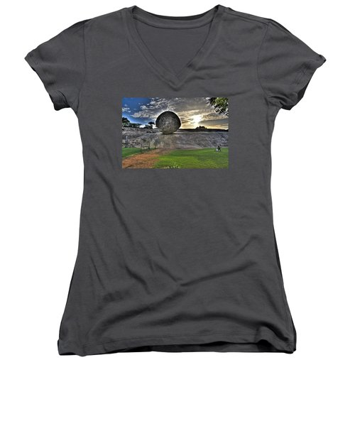 Krishna's Butterball Women's V-Neck