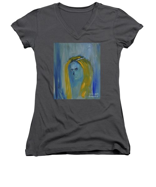 The Morrigan Women's V-Neck T-Shirt