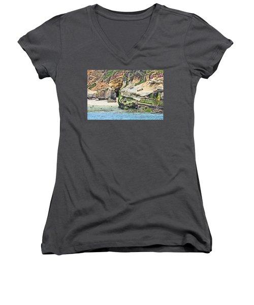 La Jolla Cliffs Women's V-Neck