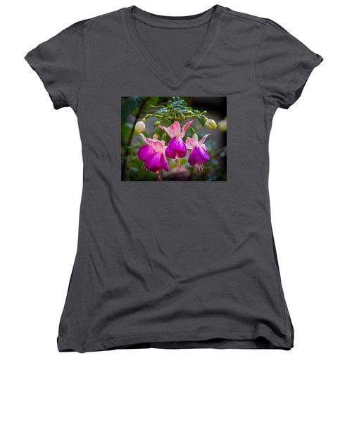 Ladies Dancing Women's V-Neck