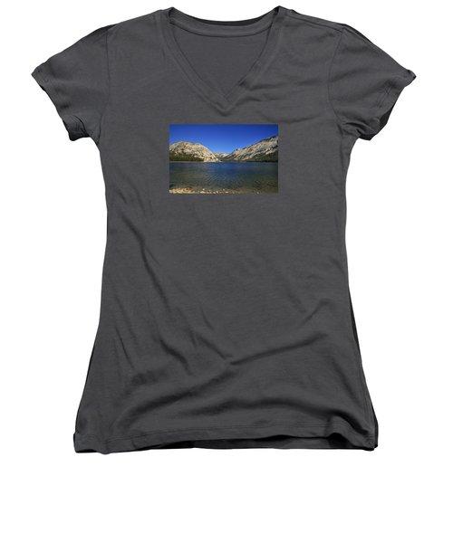 Lake Ellery Yosemite Women's V-Neck T-Shirt