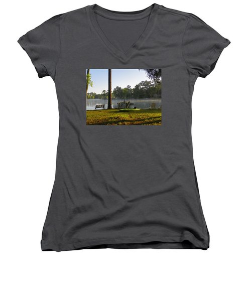 Lake Life Women's V-Neck T-Shirt