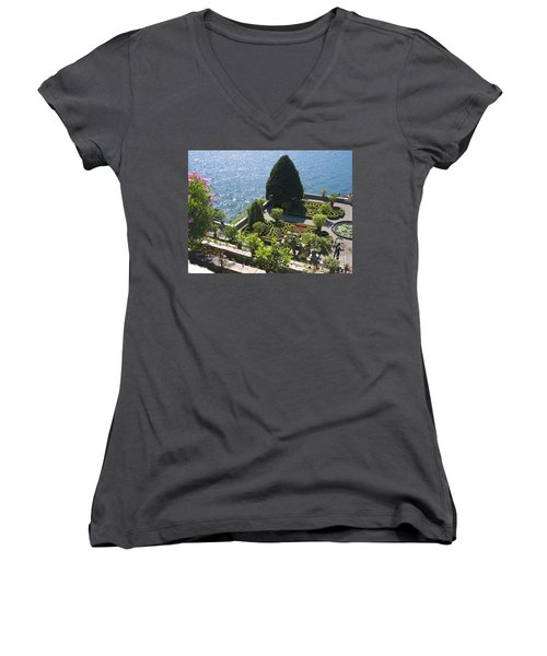 Lake Maggiore Magic Women's V-Neck