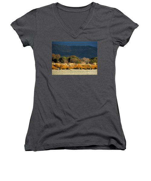 Late Afternoon Colours Women's V-Neck