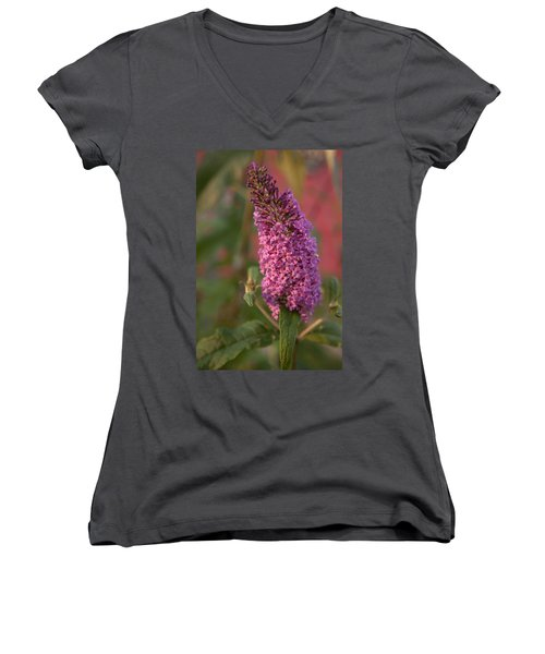 Late Summer Wildflowers Women's V-Neck