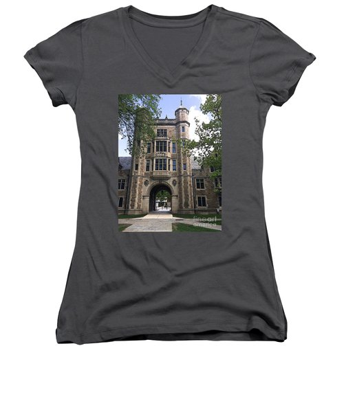 Lawyer's Prison Women's V-Neck (Athletic Fit)