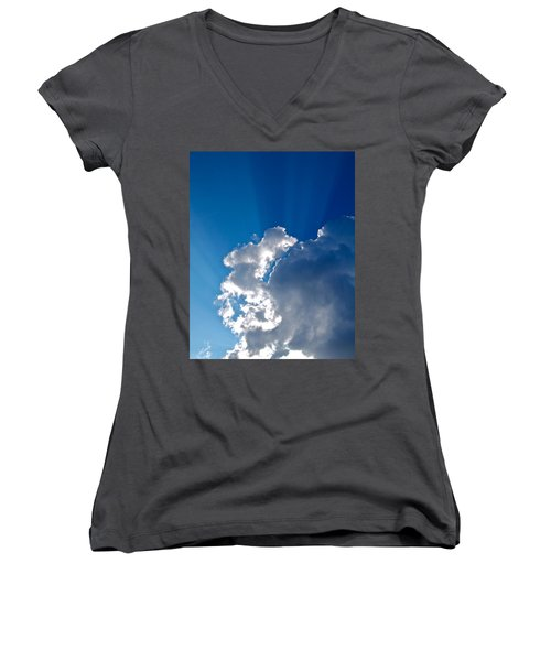 Let There Be Light Women's V-Neck