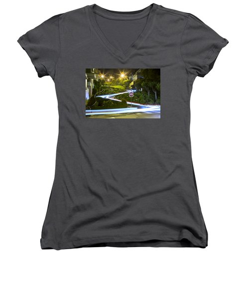 Lights On Lombard Women's V-Neck