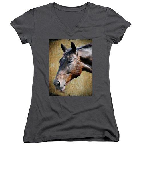 Lil Word Women's V-Neck T-Shirt