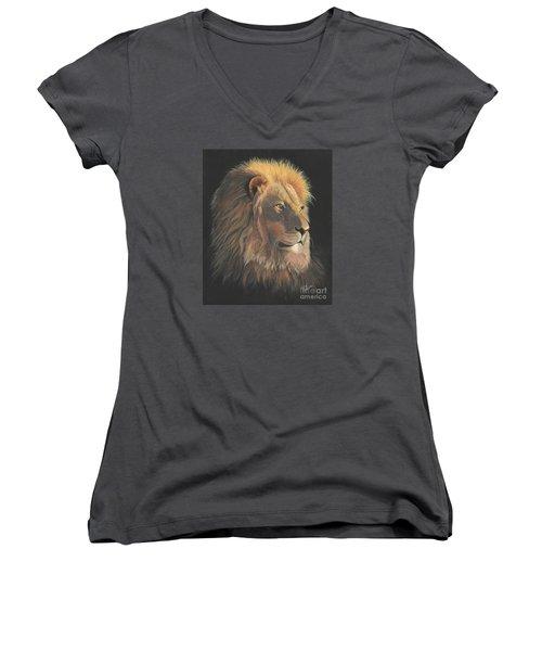 Lion Of Judah Women's V-Neck