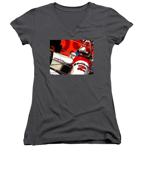 Little Al Women's V-Neck T-Shirt