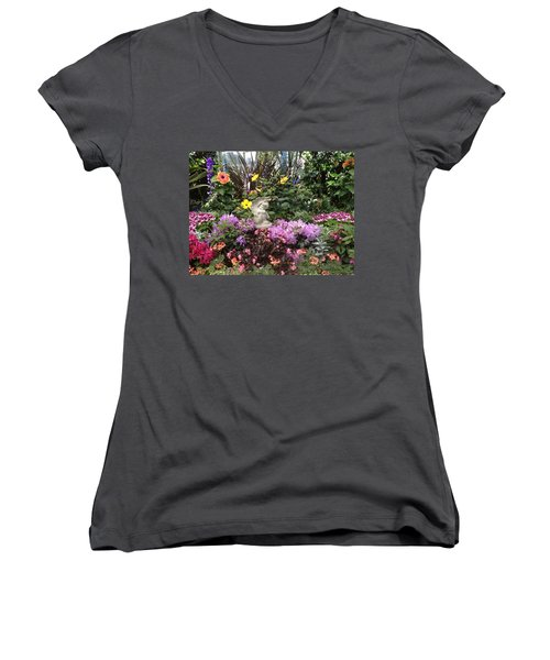 Little Cherub Women's V-Neck (Athletic Fit)