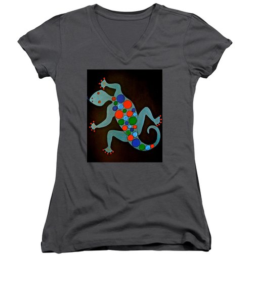 Lizard Women's V-Neck (Athletic Fit)