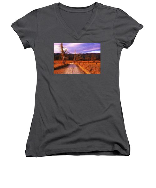 Lonely Road Women's V-Neck