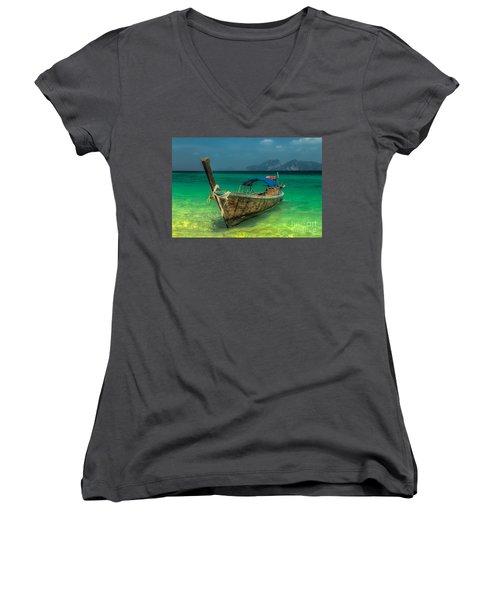 Longboat Women's V-Neck