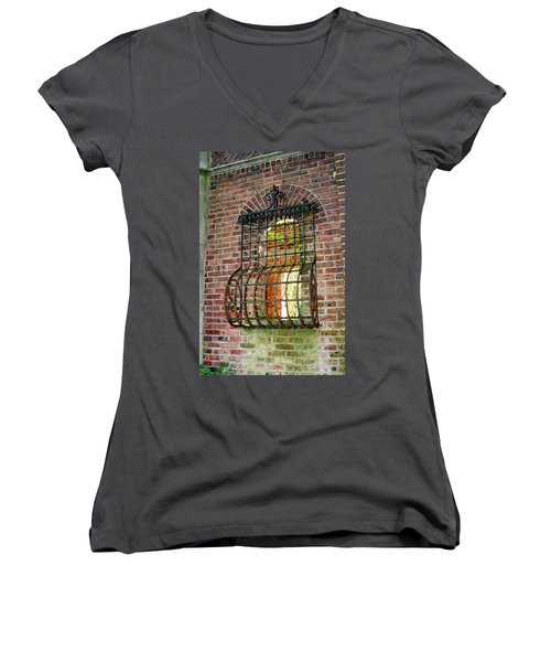 Looking Through Time Women's V-Neck